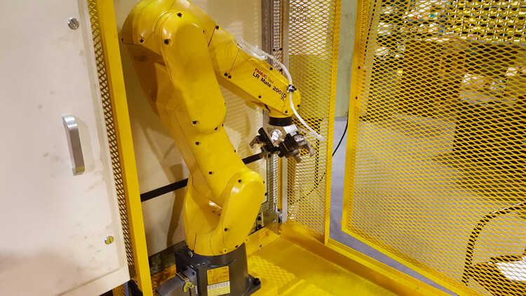 CNC North Integrated Fanuc Robot